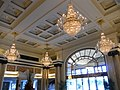 GD 廣東 肇慶 Zhaoqing Pearl Hotel Starlake interior hall ceiling lamps July 2012.JPG