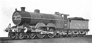 GNR Atlantic locomotive 251 (Howden, Boys' Book of Locomotives, 1907).jpg
