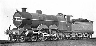GNR Class C1 (large boiler) - 251, when new in works grey