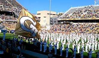 Georgia Tech Yellow Jacket Marching Band - Pregame Show