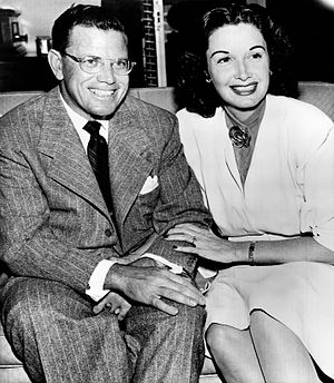 Gail Patrick - Gail Patrick and Cornwell Jackson (May 1947)