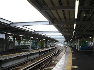 Gakken Kita-Ikoma Station Railway station in Ikoma, Nara Prefecture, Japan