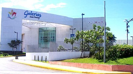 One of Managua's growing number of malls - Galerias Santo Domingo Galerias Santo Domingo in Managua.jpg
