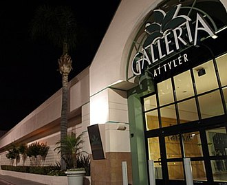 Galleria at Tyler - Northeastern entrance to Galleria at Tyler