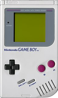 Nintendo sort Game Boy en 1989 190px-Gameboy