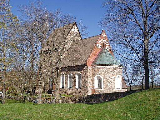 Gamla Uppsala - church