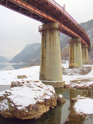 Gyeongchun Line - Trestle on the old Gyeongchun Line