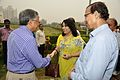 Ganga Singh Rautela Shakes Hands with Arundhaty Ghosh - MSE Golden Jubilee Celebration - Science City - Kolkata 2015-11-17 4896.JPG