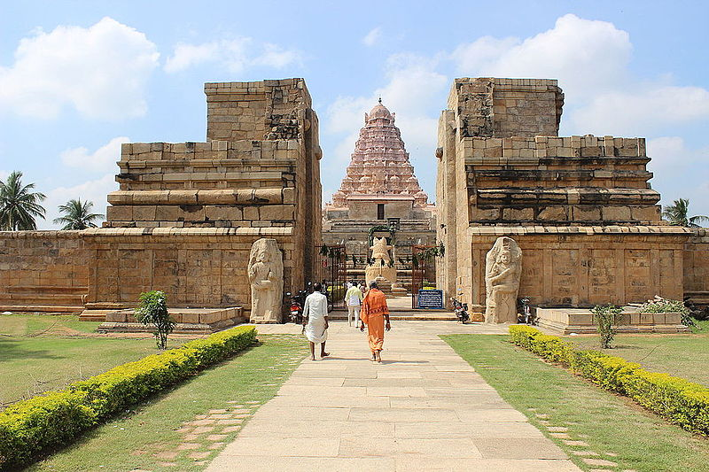 Gangaikonda Cholapuram near the Kaveri