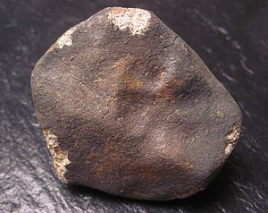 Gao–Guenie meteorite - Image: Gao Guenie 308g trailing side