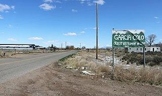 Garcia, Colorado Unincorporated community in Colorado, United States