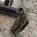 Gargouille sur la façade est du Vieux logis (Le Mont-Saint-Michel, Manche, France).jpg