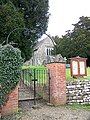 Gate, St Mary's Church, West Stour - geograph.org.uk - 1155538.jpg