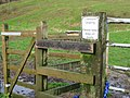 Gate to Jumping Downs nature reserve - geograph.org.uk - 335618.jpg