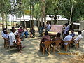 Gathering in a meeting of villagers in an Bangladeshi village 2015 23.jpg