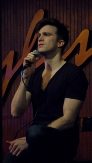Gavin Creel - Performing at the Ryles Jazz Club  in Boston, Massachusetts, in 2010