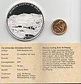Gedenkprägung - Geschichte der Mark, 50 Pfennig, Rückseite mit Zertifikat.jpg