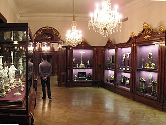 Schatzkammer - Cathedral treasury in Vienna's Hofburg Palace