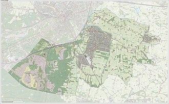 Leusden - Dutch Topographic map of Leusden, June 2015