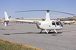 Gemhawk Services (VH-FUX) Robinson R44 Raven II at Wagga Wagga Airport.jpg