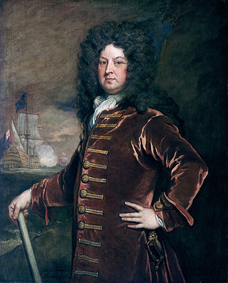 George Churchill (Royal Navy officer) - Godfrey Kneller, George Churchill (NMM)