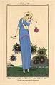 George Barbier, Costumes Parisiens - Petite robe de Jardin, 1913.jpg
