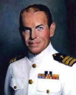 USS Houston (CA-30) - George S. Rentz, Chaplain of Houston 1940–1942.