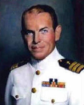 USS Houston (CA-30) - George S. Rentz, Chaplain of Houston 1940–1942.