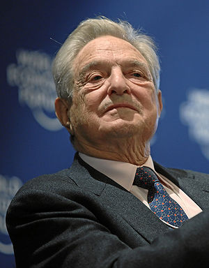DAVOS/SWITZERLAND, 27JAN10 - George Soros, Cha...