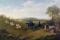 George Stubbs, 1759, 'Racehorses Exercising'.jpg
