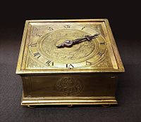 Germany Mannerist table clock with arabesque.jpg