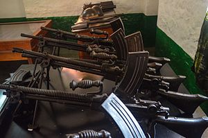 Ghana Army - Early small arms issued to the Ghanaian army at independence.