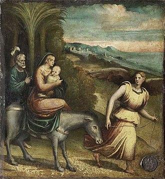 Giacomo Francia - Giacomo Francia, Flight into Egypt, Palais des Beaux-Arts de Lille