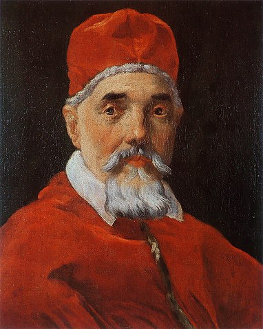 Папа Римский Урбан VIII. Портрет кисти Джованни Лоренцо Бернини, около 1625г.