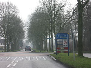 Giessen, Netherlands - Entrance of Giessen