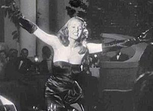 Black dress of Rita Hayworth - Image: Gilda trailer rita hayworth 3 crop