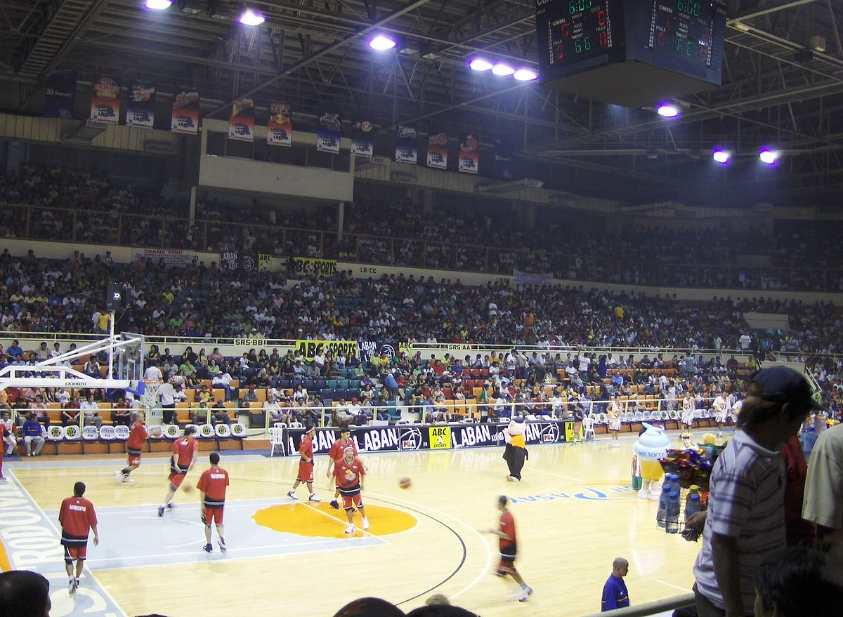 list of venues played by the philippine basketball