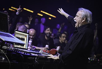 Giorgio Moroder - Giorgio Moroder performing at the First Avenue in Minneapolis, 2018