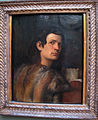Giorgione, ritratto di giovane con pelliccia.JPG