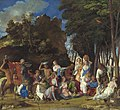 Giovanni Bellini and Titian, The Feast of the Gods, 1514-1529, NGA 1138.jpg