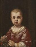 Girl Holding a Bunch of Grapes (Antonio Amorosi) - Nationalmuseum - 17327.tif
