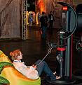 Girl playing PS3 at GamesCom - Flickr - Sergey Galyonkin.jpg
