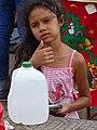 Girl with Water Jug - Leon - Nicaragua (31439869902).jpg