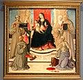 Girolamo di benvenuto, sposalizio mistico di s. caterina tra santi, 1515-20 (mi, bagatti valsecchi) 01.jpg