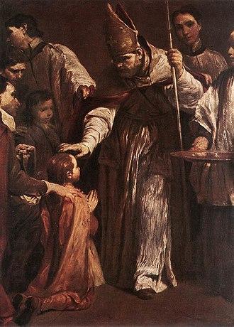 Giuseppe Crespi - Image: Giuseppe Maria Crespi Confirmation WGA05765