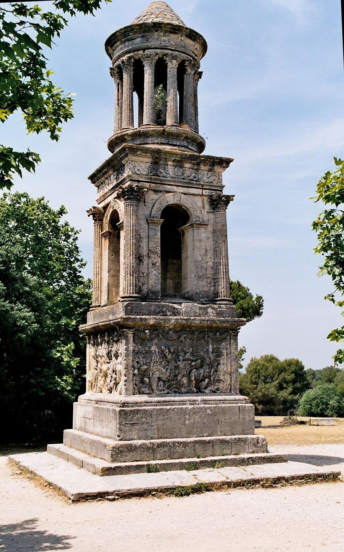 [!ON!] Meados de Abril 1200px-Glanum-mausolee