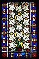 Glasfenster aus Minoritenkirche Regensburg Ornamentscheibe mit Efeuranken.jpg