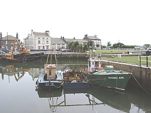 Glasson Dock - Image: Glasson Dock, Lancashire geograph.org.uk 25187