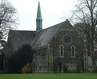 Glenside, Bristol - Old Chapel, now Glenside Museum