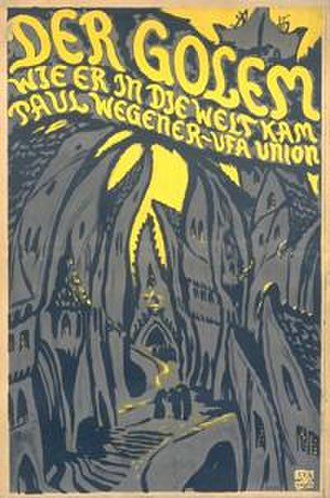 The Golem: How He Came into the World - Image: Golem 1920 Poster